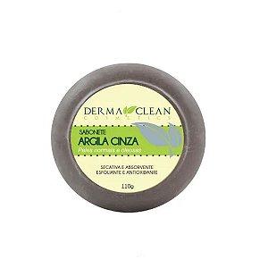 Sabonete Argila Cinza 110 grs Derma Clean