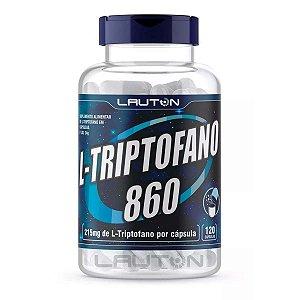 1 L Triptofano Precursor 5htp Serotonina 120 Lauton Nutrition