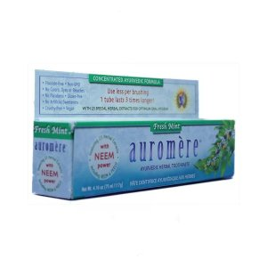 Creme Dental Natural Auromere Fresh-Mint
