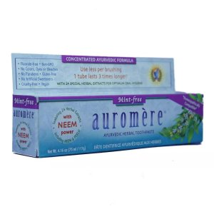 Creme Dental Natural Auromere Mint-Free