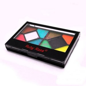 Kit De Sombras Tons Opacos Make HD Ruby Rose - Hb-9230