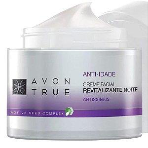 Avon True - Creme Facial Revitalizante Noite / 50g