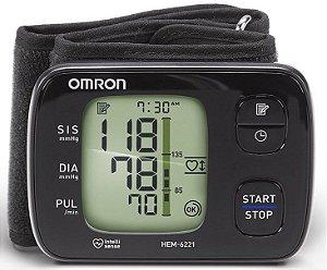 Monitor de Pressão Arterial de Pulso HEM-6221 - Omron