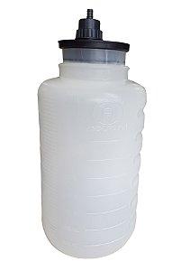 Frasco para Aspiração 5 Litros Autoclavável 127°C (Com Tampa) Nevoni
