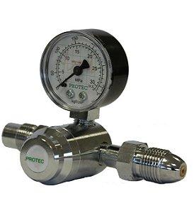 Válvula Reguladora para Cilindro de Ar Comprimido NB204 (Cano Curto)