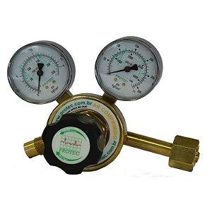 Válvula Reguladora de Pressão para Cilindro com 2 Manômetros – Ar Comprimido NB218