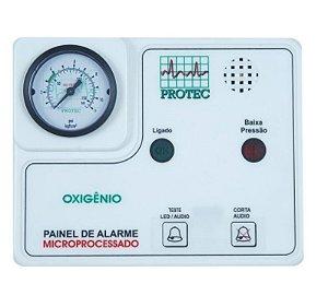 Painel de Alarme para Rede de Gases – Oxigênio