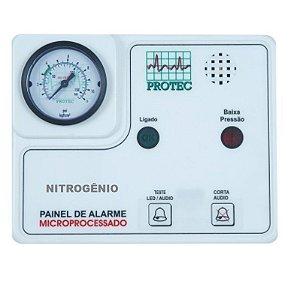 Painel de Alarme para Rede de Gases – Nitrogênio