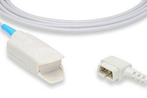 Sensor de Oximetria Compatível com CRITICARE - Clip