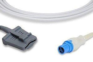 Sensor de Oximetria Compatível com DRAGER - Soft
