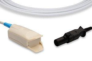 Sensor de Oximetria Compatível com GE OHMEDA - Clip