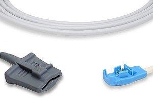 Sensor de Oximetria Compatível com GE Oxy Tip + Soft