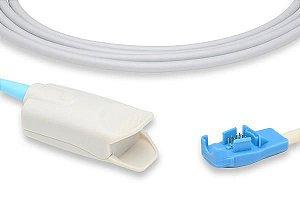 Sensor de Oximetria Compatível com GE Oxy Tip + Clip