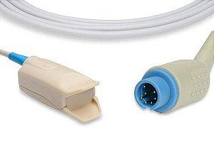 Sensor de Oximetria Compatível com MINDRAY - Azul
