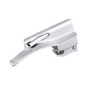 Lâmina para Laringoscópio Fibra Óptica Curva N° 0 – MD