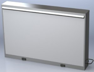 Negatoscópio de 2 Corpos Simples LED Konex