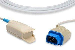 Sensor de Oximetria Compatível com Nihon Kohden - Clip