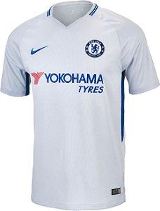 Camisa Chelsea Away 17 18 s n° - Torcedor Nike Masculina - Off fe5f878290119
