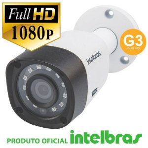CÂMERA BULLET FULL HD 1220B G3 MULTI HD - INTELBRAS