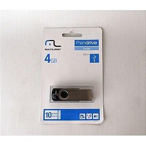 PENDRIVE TWIST USB 2.0 4GB MULTILASER