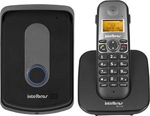 Telefone sem fio com ramal externo Intelbras - TIS 5010 (Interfone sem fio)
