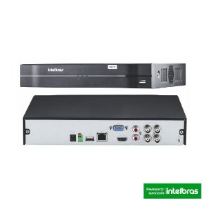 GRAVADOR MULTI HD INTELBRAS 4 CANAIS - DVR MHDX 1104