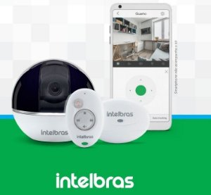 CÂMERA INTELBRAS SEM FIO IP MIBO IC7S FULL HD 360º C/ ALARME INTEGRADO (2.0MP | 1080P | METAL)