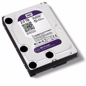 HD SATA WESTERN DIGITAL WD PURPLE 2TB