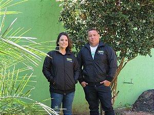 Jaqueta forrada bordada - técnico em agropecuária