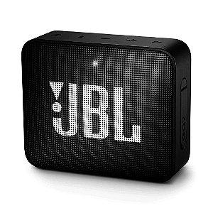 Caixa de Som Portátil JBL GO 2 - Bluetooth, À Prova D'água e Poeira, Black