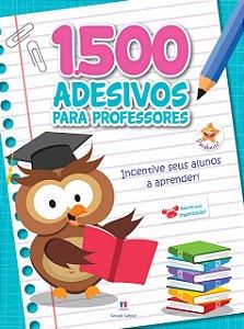 1500 adesivos - Incentive seus alunos a aprender!