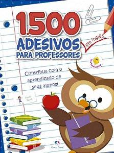 1500 adesivos - Contribua com o aprendizado dos seus alunos Inglês