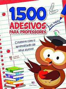 1500 adesivos - Colabore com o aprendizado dos seus alunos Inglês