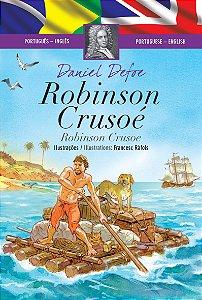 Robinson Crusoé  (Edição Bilingue, Capa Dura)