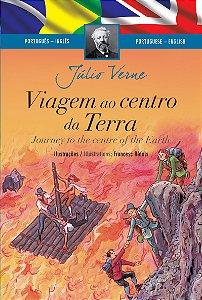 Viagem ao Centro da Terra (Edição Bilingue, Capa Dura)