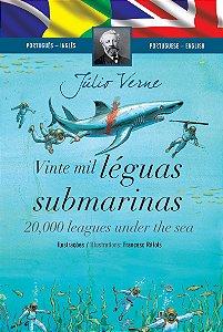 Vinte Mil Léguas Submarinas (Edição Bilingue, Capa Dura)