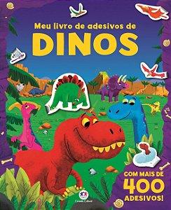 Meu Livro de Adesivos de Dinos