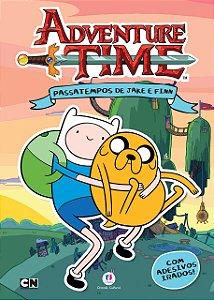 Hora de Aventura: Passatempos de Jake e Finn, Livro Adesivos