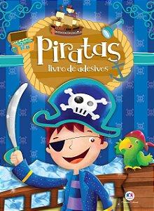 Piratas: Livro de Adesivos
