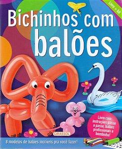 Bichinhos com Balões - Livro e Kit