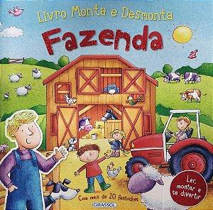 Livro Monta e Desmonta - Fazenda