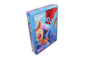 Disney Latinha Feliz - Procurando Dory - Caixa (+3 Livros + Pôster + 50 Adesivos)
