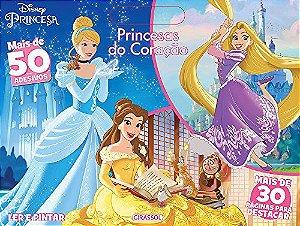 Disney Ler e Pintar - Princesas do Coração