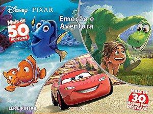 Disney Ler e Pintar - Emoção e Aventura - Pixar