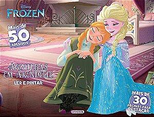 Disney Ler e Pintar - Aventuras em Arendelle - Frozen