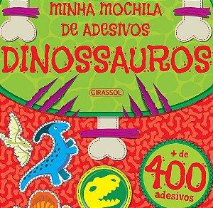 Minha Mochila de Adesivos - Dinossauros