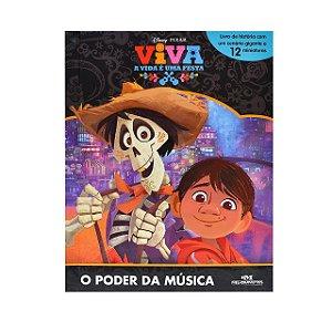 Disney Viva, A Vida é Uma Festa - O Poder da Música - Livro com Cenário e Miniaturas