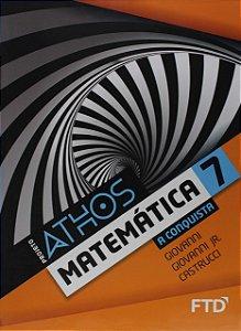 Conjunto Projeto Athos 7 - Matemática - A Conquista