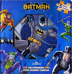 Batman – Meu Primeiro Livro Quebra-Cabeças