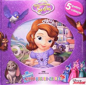 Princesinha Sofia - Meu Primeiro Livro Quebra-Cabeças